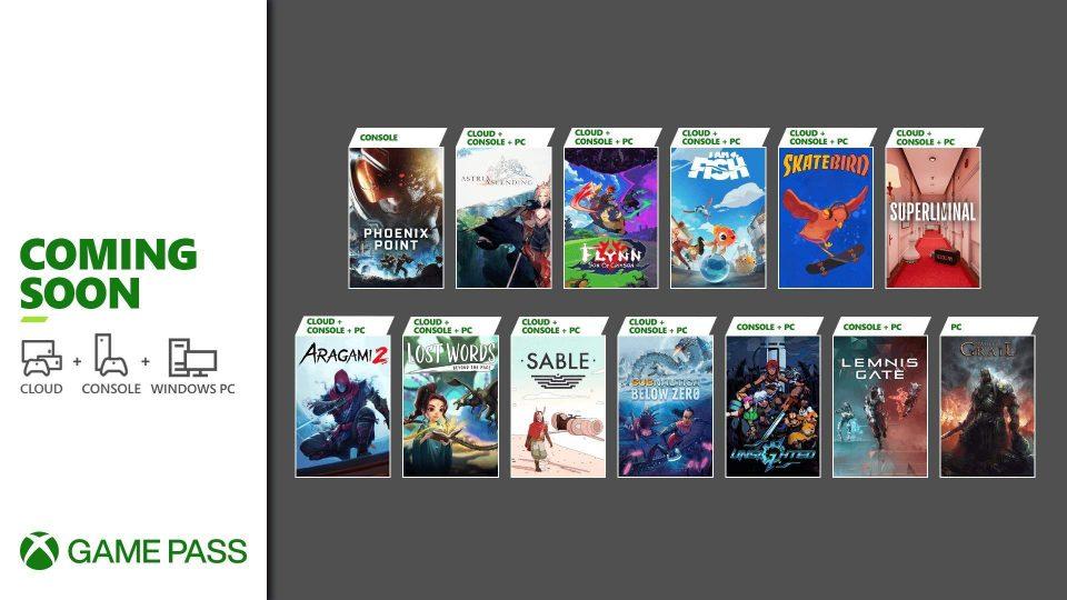 Xbox Game Pass Fine Settembre 2021