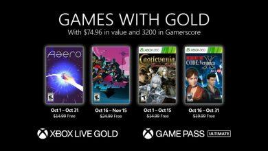 Xbox Live Gold Ottobre 2021